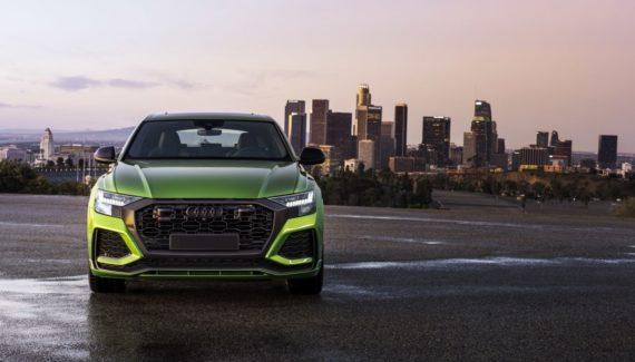 2021 Audi RS Q8 front