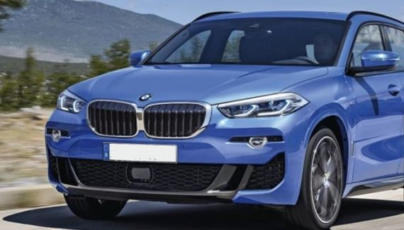 2021 BMW X1 front