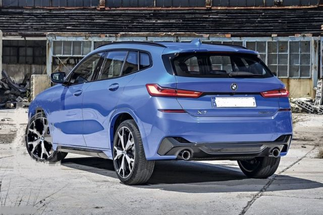 2021 BMW X1 rear