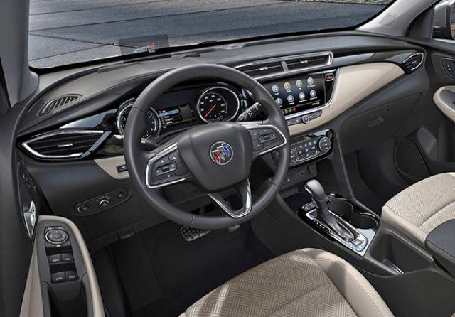 2021 Buick Encore interior