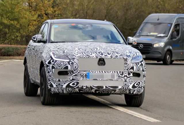 2021 Jaguar E-Pace front