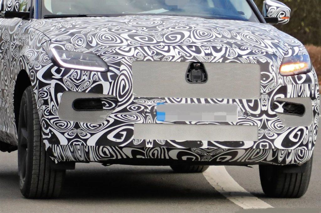 2021 Jaguar E-Pace grille
