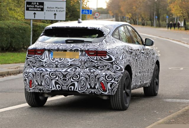 2021 Jaguar E-Pace rear