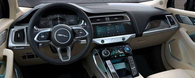2021 Jaguar I-Pace interior