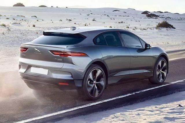 2021 Jaguar I-Pace rear