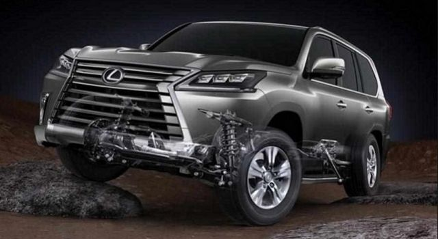 2021 Lexus LX suspension