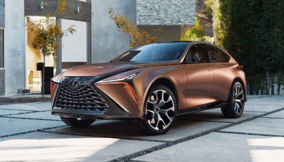 2021 Lexus NX front