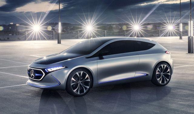 2021 Mercedes-Benz EQA Concept