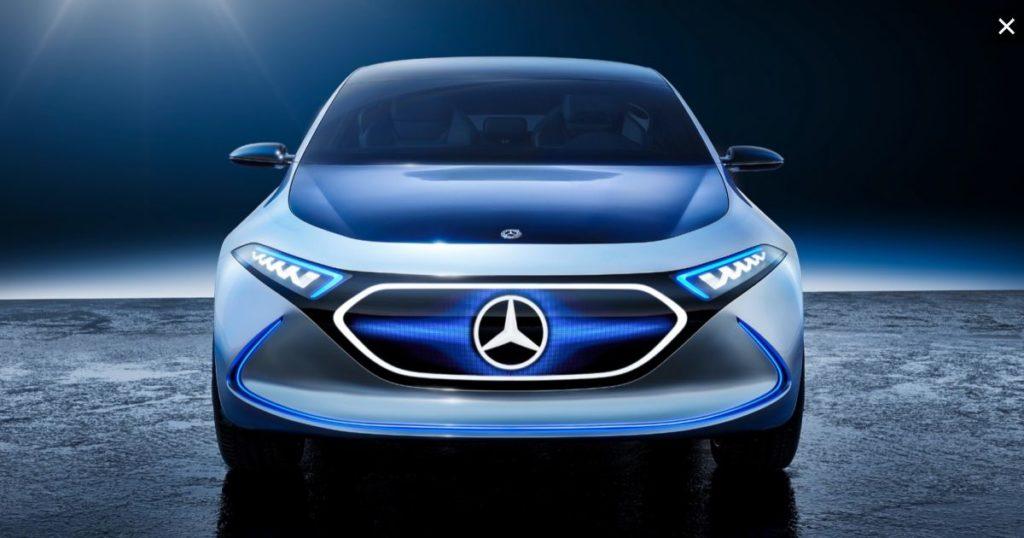 2021 Mercedes-Benz EQA front