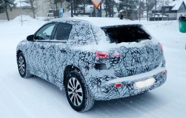 2021 Mercedes-Benz EQA rear