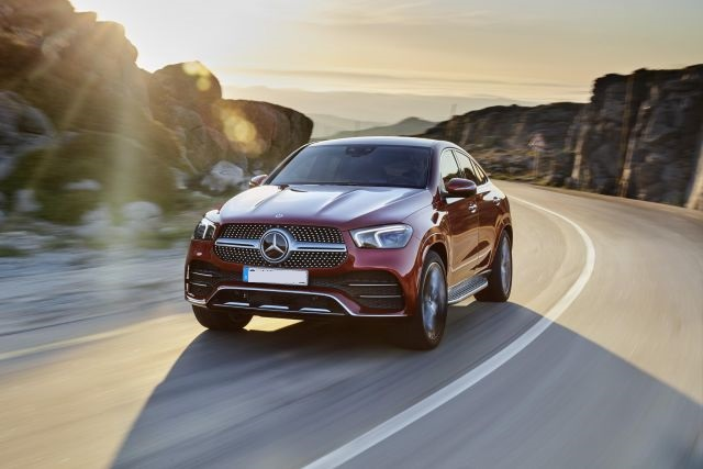 2021 Mercedes-Benz GLE front