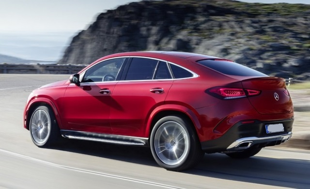 2021 Mercedes-Benz GLE rear