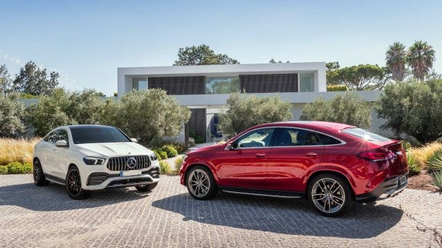 2021 Mercedes-Benz GLE side