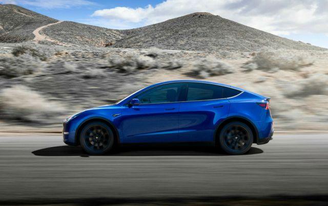 2021 Tesla Model Y side