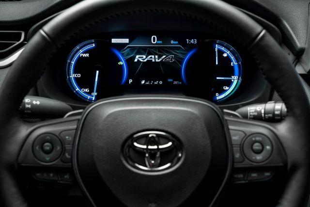 2021 Toyota RAV4 Plug-In Hybrid interior