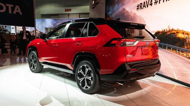 2021 Toyota RAV4 Plug-In Hybrid rear
