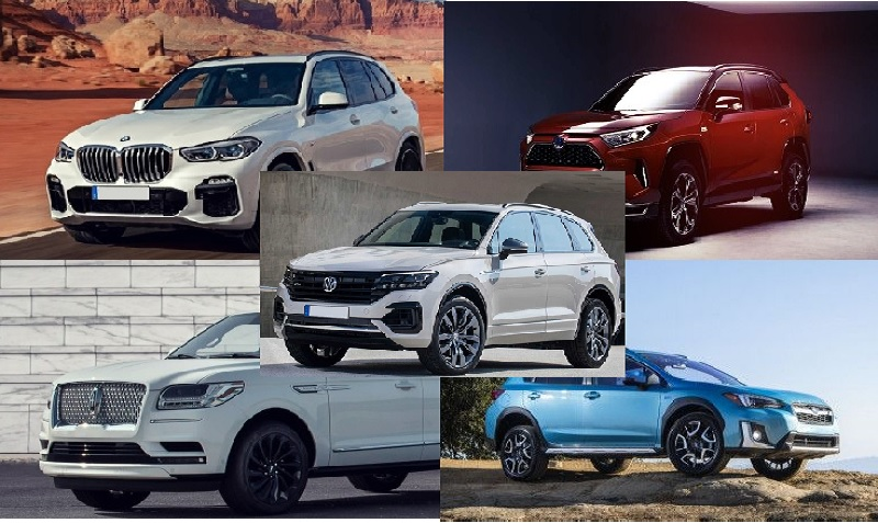 Top Five Hybrid SUVs For 2021