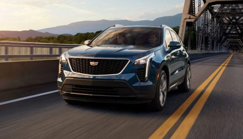 2021 Cadillac XT4 front