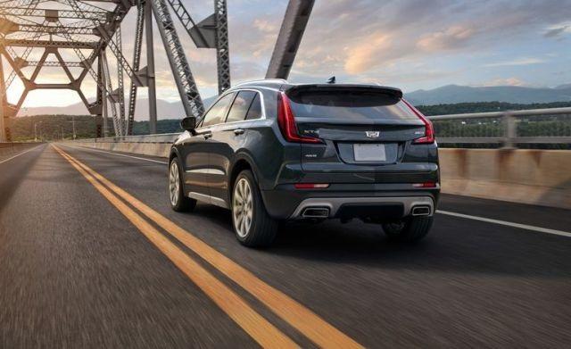 2021 Cadillac XT4 rear