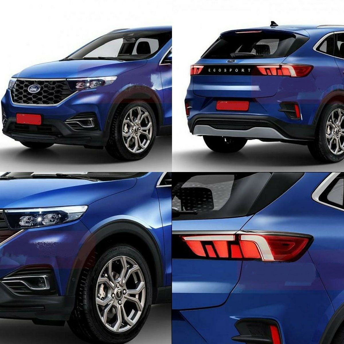 2021 Ford EcoSport Is Mustang Inspired Crossover - 2020 ...