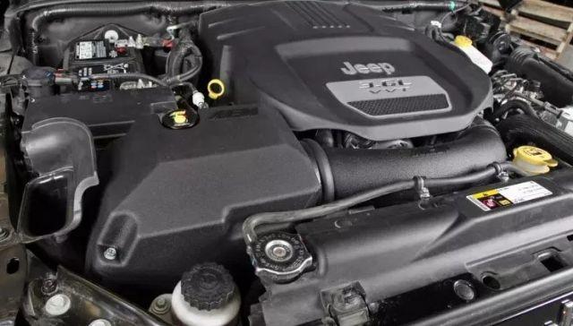 2021 Jeep Wrangler Unlimited powertrain