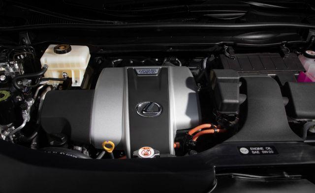 2021 Lexus RX powertrain