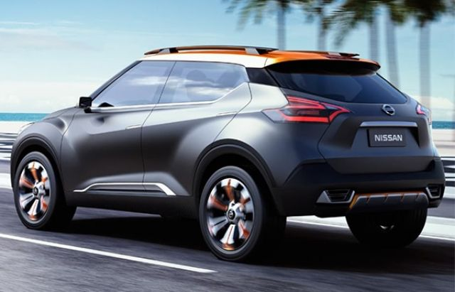 2021 Nissan Kicks side look
