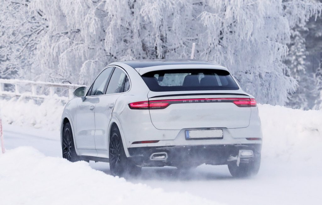 2021 Porsche Cayenne Turbo GT rear