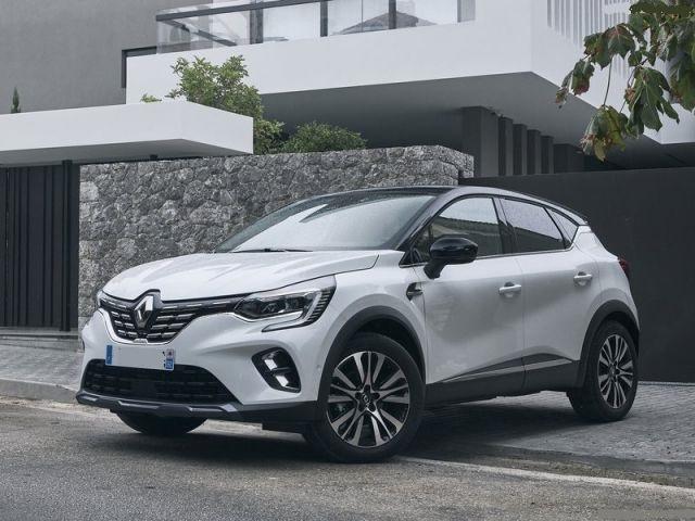 2021 Renault Captur front