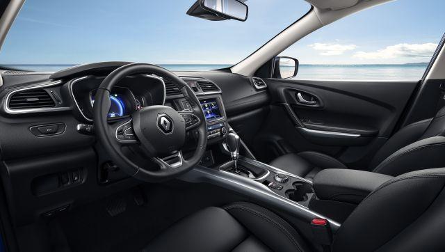 2021 Renault Kadjar cabin
