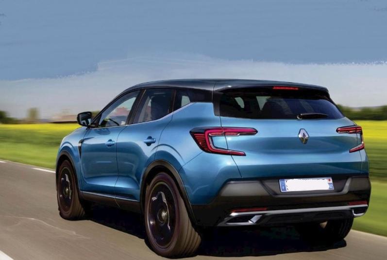 2021 Renault Kadjar rear