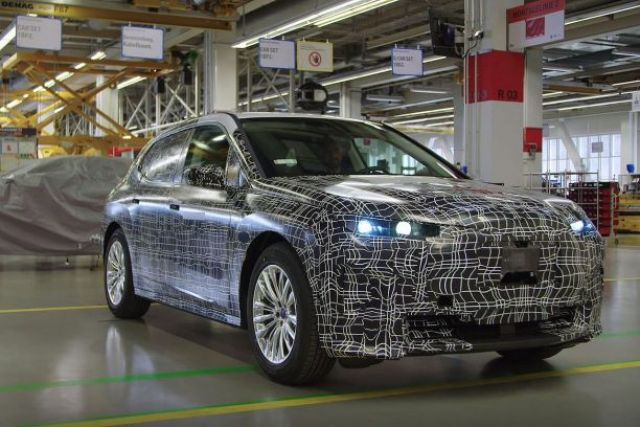2021 BMW iX5 first look