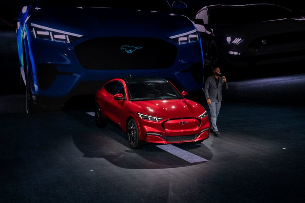 2021 Ford Mach E front