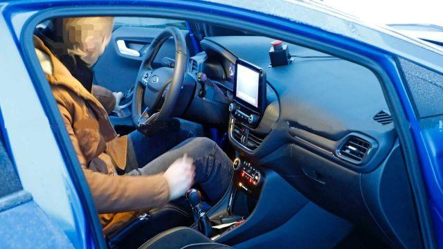 2021 Ford Puma ST cabin