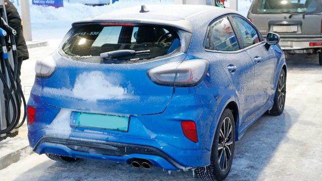 2021 Ford Puma ST rear