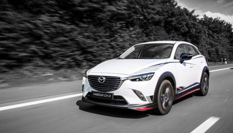 2021 Mazda CX-3 front