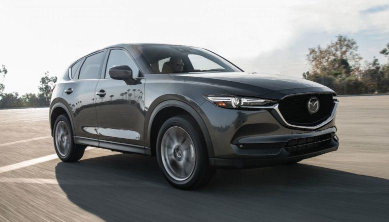 2021 Mazda CX-7 side