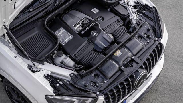 2021 Mercedes-AMG GLE 63 S Coupe engine