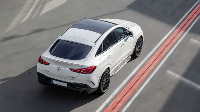 2021 Mercedes-AMG GLE 63 S Coupe rear