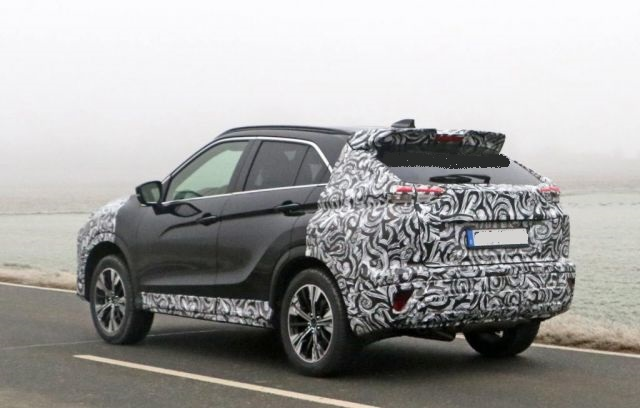 2021 Mitsubishi Eclipse Cross rear