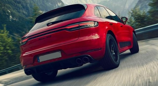2021 Porsche Macan GTS rear design