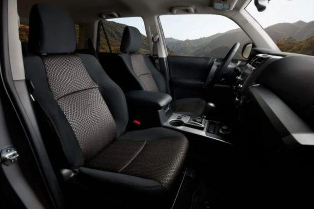 2021 Toyota 4Runner Trail cabin