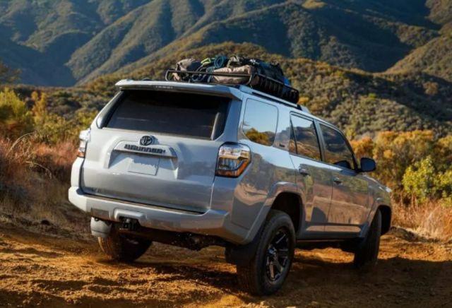 2021 Toyota 4Runner Trail rear
