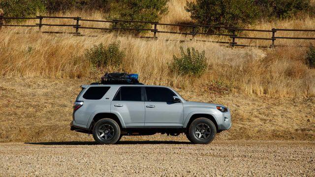 2021 Toyota 4Runner Trail side