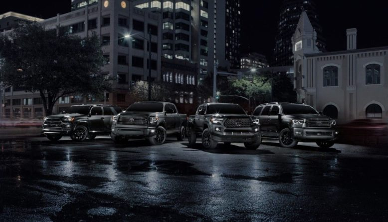 2021 Toyota Sequoia Nightshade front