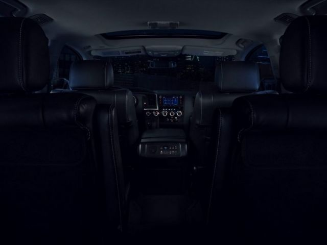 2021 Toyota Sequoia Nightshade interior