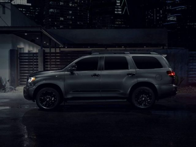 2021 Toyota Sequoia Nightshade side