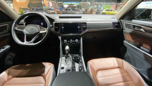 2021 Volkswagen Atlas cabin