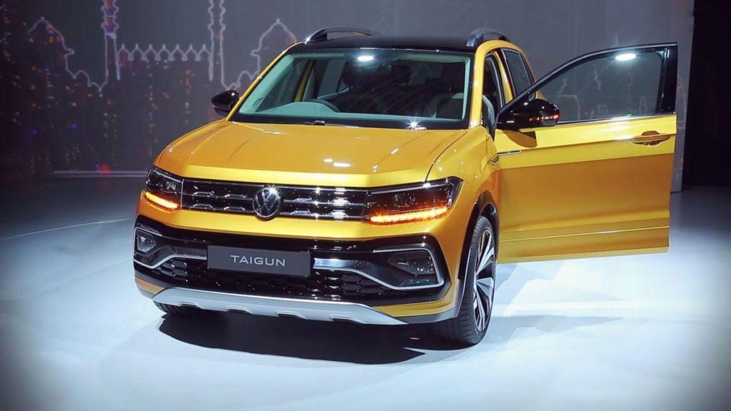 2021 Volkswagen Taigun front