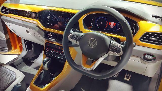 2021 Volkswagen Taigun interior